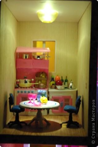Уютный домик для кукол фото 12