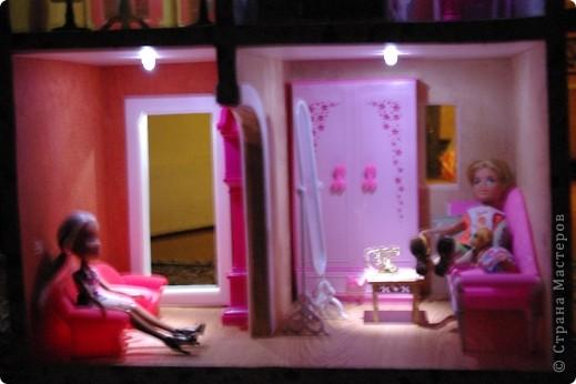 Уютный домик для кукол фото 14