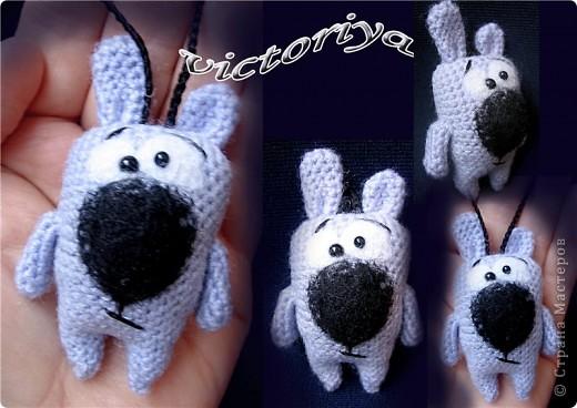 Срочно понадобился подарочек ,вот и появился такой зайчишка )))))))