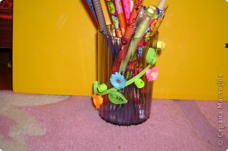 Вот такая карандашница получилась фото 2