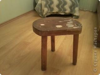 Еще один реставрированный стульчик фото 4