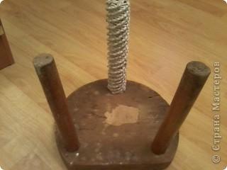 Еще один реставрированный стульчик фото 6