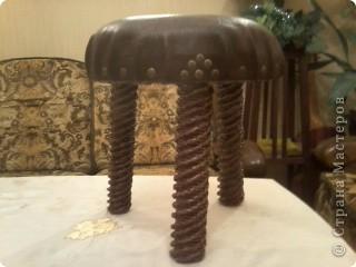 Еще один реставрированный стульчик фото 3