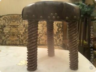 Еще один реставрированный стульчик фото 2