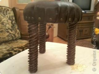 Еще один реставрированный стульчик фото 1