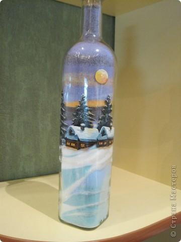 Первая мамина бутылка с солью. Картинка - масляные краски фото 1