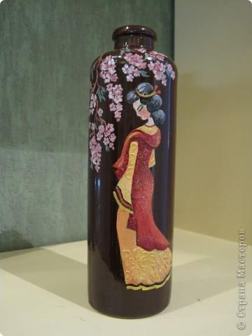Первая мамина бутылка с солью. Картинка - масляные краски фото 3