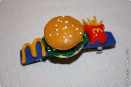 Заколка МакДональдс ;) фото 1