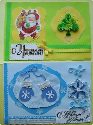 Вот еще несколько открыток с символами Нового года.  фото 1