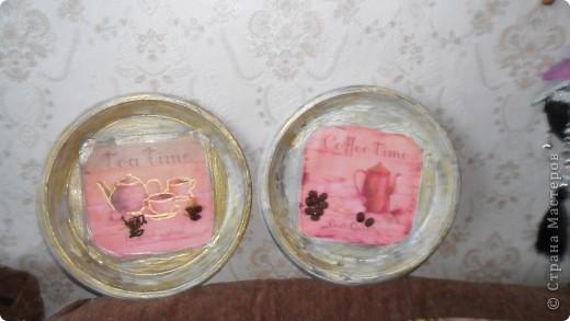 """две тарелочки """"Чай, Кофе"""" фото 1"""