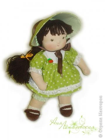 Милая нежная девочка. 32 см. фото 1