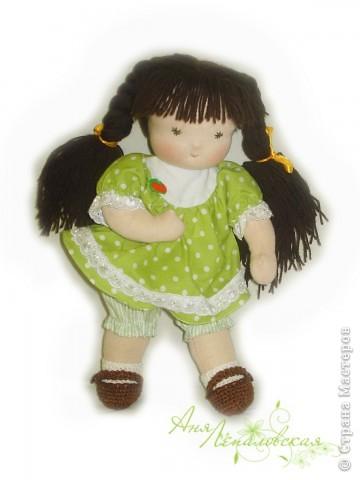 Милая нежная девочка. 32 см. фото 2