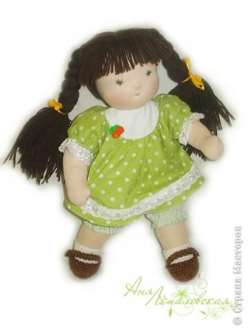 Милая нежная девочка. 32 см. фото 3