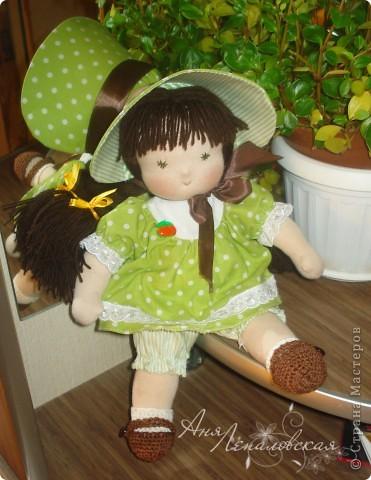 Милая нежная девочка. 32 см. фото 4