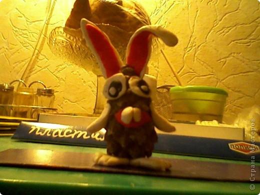 вот моё добро!сначала делаем кролика! фото 12