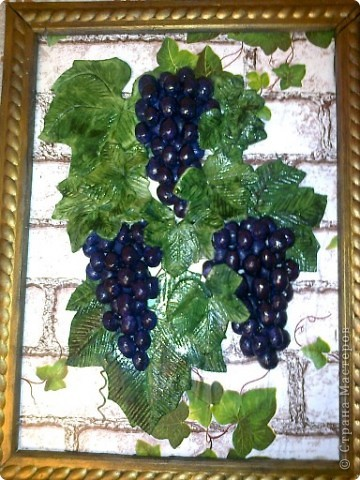 Виноград по МК Марины Архиповой фото 1