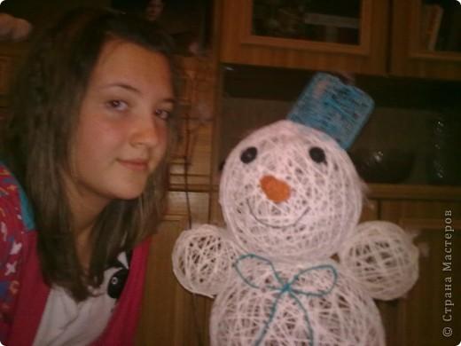 а вот и мой снеговик фото 2