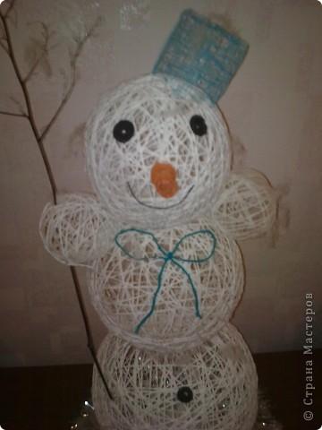 а вот и мой снеговик фото 4