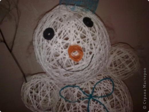 а вот и мой снеговик фото 5