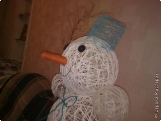 а вот и мой снеговик фото 6