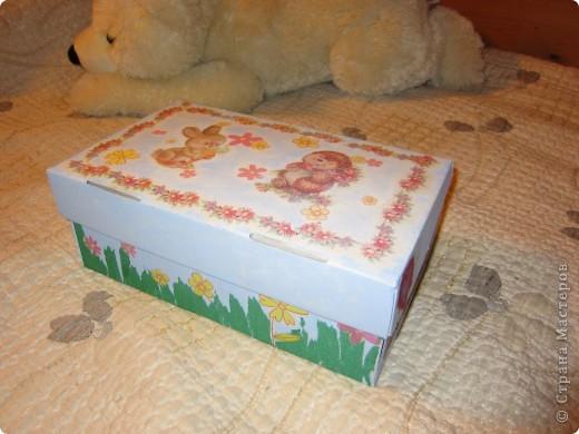 Коробочка для игрушек фото 1