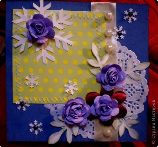 Зимние розы фото 1