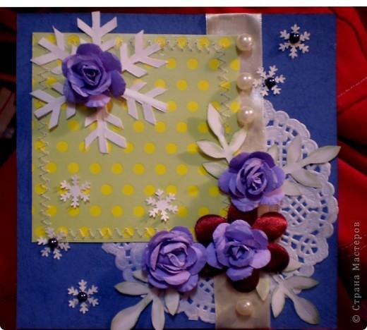 Зимние розы фото 2
