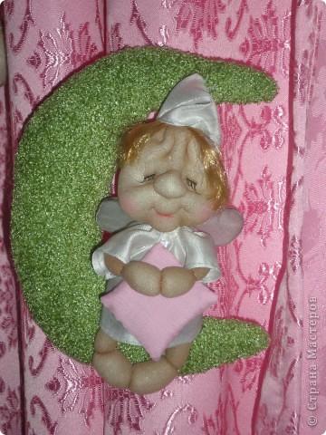 Теперь у меня появился первый ангелок-сплюша!! Спасибо Ликме, за МК!!! фото 2