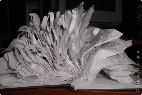 для работы нам необходима книга(у меня телефонный справочник)Но книга неочень толстая примерно листов 180-200 фото 2