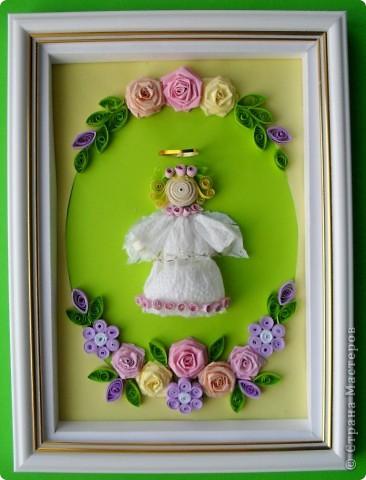Этого ангелочка сделала в подарок своей коллеге -учительнице. Надеюсь, ей понравится. фото 1