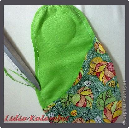 Куклы Шитьё Как я делаю текстильную матрёшку Мастер класс Ткань фото 18