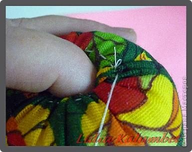Куклы Шитьё Как я делаю текстильную матрёшку Мастер класс Ткань фото 21