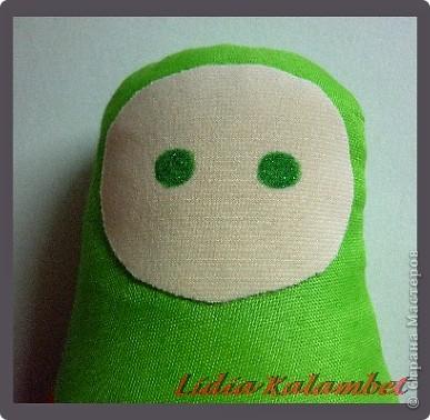 Куклы Шитьё Как я делаю текстильную матрёшку Мастер класс Ткань фото 26