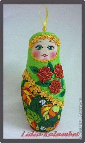 Куклы Шитьё Как я делаю текстильную матрёшку Мастер класс Ткань фото 1