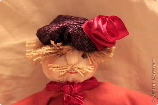 """Подружка попросила сшить кукол на свадебную тему. В технике """"Тряпичная кукла"""" фото 2"""
