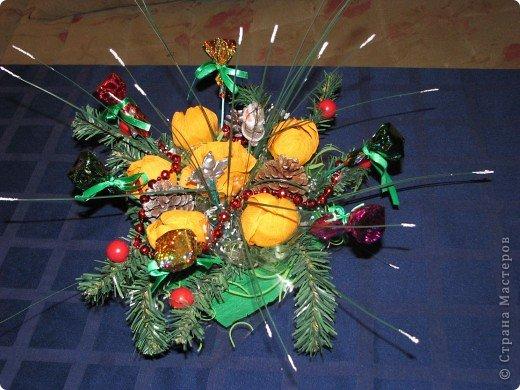 Вот две недели делали подарки для родных к Новому Году. Всего получилось 17 корзиночек. фото 4