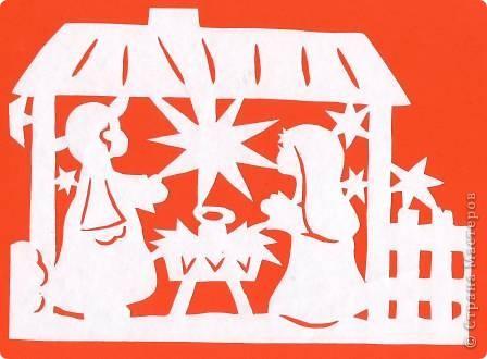 Поделка изделие Новый год Вырезание Новогодние вытынанки Бумага фото 28