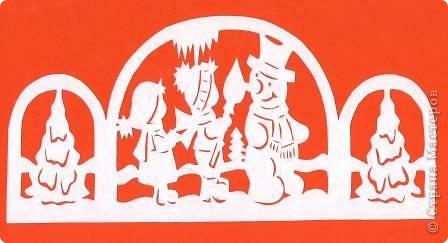 Поделка изделие Новый год Вырезание Новогодние вытынанки Бумага фото 29