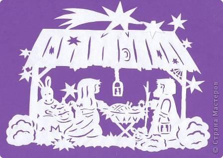 Поделка изделие Новый год Вырезание Новогодние вытынанки Бумага фото 30