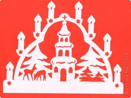 Поделка изделие Новый год Вырезание Новогодние вытынанки Бумага фото 6