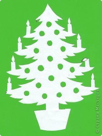 Поделка изделие Новый год Вырезание Новогодние вытынанки Бумага фото 32