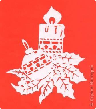 Поделка изделие Новый год Вырезание Новогодние вытынанки Бумага фото 7