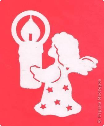 Поделка изделие Новый год Вырезание Новогодние вытынанки Бумага фото 10