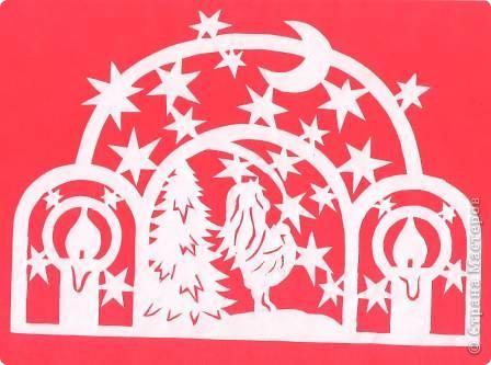 Поделка изделие Новый год Вырезание Новогодние вытынанки Бумага фото 12