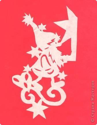 Поделка изделие Новый год Вырезание Новогодние вытынанки Бумага фото 15