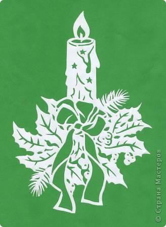 Поделка изделие Новый год Вырезание Новогодние вытынанки Бумага фото 16