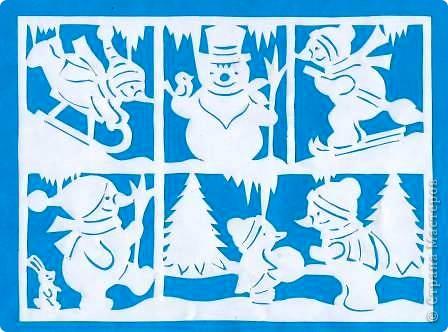 Поделка изделие Новый год Вырезание Новогодние вытынанки Бумага фото 19