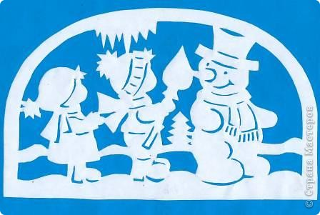Поделка изделие Новый год Вырезание Новогодние вытынанки Бумага фото 20