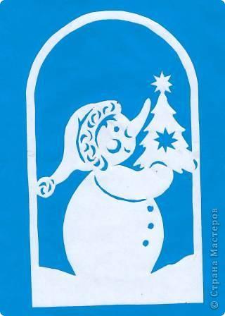Поделка изделие Новый год Вырезание Новогодние вытынанки Бумага фото 23