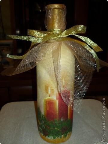 подарок на День рождения в Рождество,грунт,,акриловые краски,салфетка,лак для саун,фатин,лента фото 1